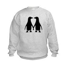 Penguin couple love Sweatshirt