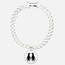 Penguin couple love Bracelet