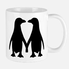 Penguin couple love Mug