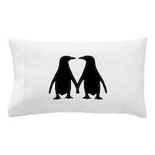 Penguin couple love Pillow Case