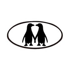 Penguin couple love Patches