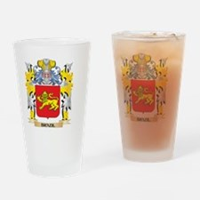 Brazil Coat of Arms - Family Crest Drinking Glass