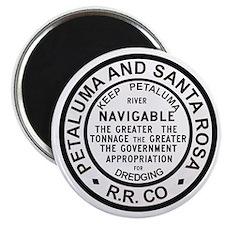 P & SR RR Button Magnet