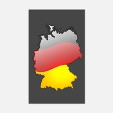 """Germany Bubble Map"" Rectangle Decal"
