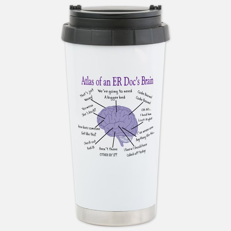 Cute Emergency room nurse Thermos Mug