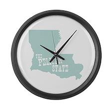Louisiana Large Wall Clock