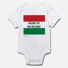 """Made in Hungary"" Infant Bodysuit"