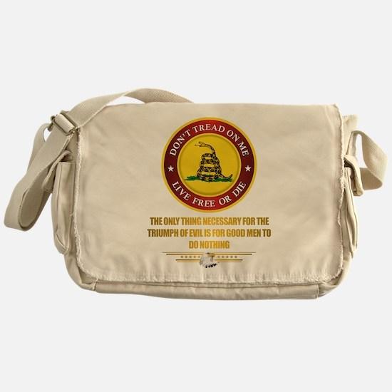 (DTOM) Triumph Over Evil Messenger Bag
