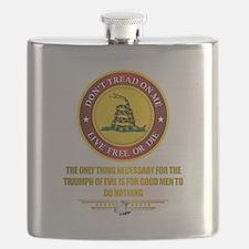 (DTOM) Triumph Over Evil Flask