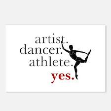 Artist. Dancer. Athlete. Postcards (Package of 8)