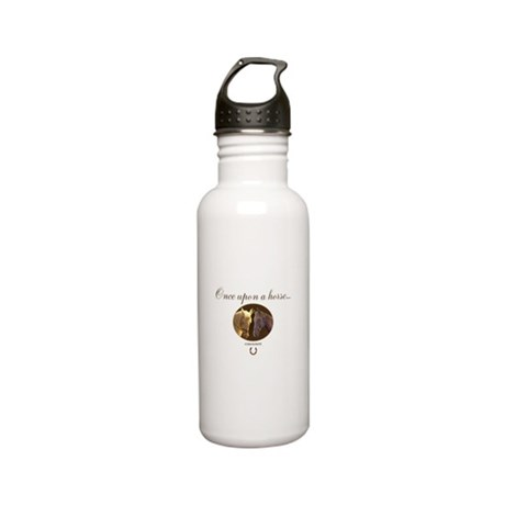 Horse Theme Design #55 Stainless Water Bottle 0.6L