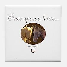 Horse Theme Design #55000 Tile Coaster