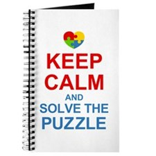 Keep Calm And Solve It Journal