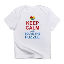 Keep Calm And Solve It Infant T-Shirt