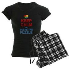 Keep Calm And Solve It Pajamas