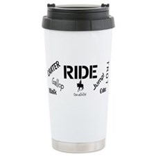 Horse Theme Design #700 Travel Mug