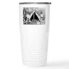Cowboys in Camp, 1890 Travel Mug