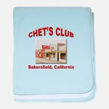 Chets Club baby blanket