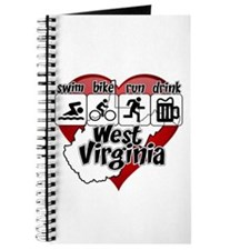 West Virginia Swim Bike Run Drink Journal