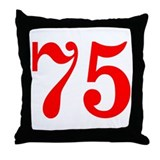 75 pillow Throw Pillows