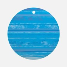 Grungy Blue stripes abstract paint splashes Orname
