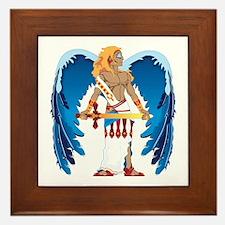 St. Michael Framed Tile