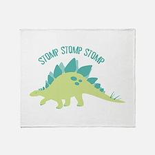 Stomp Stomp Stomp Throw Blanket