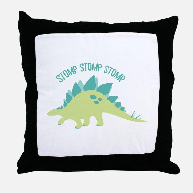 Stomp Stomp Stomp Throw Pillow