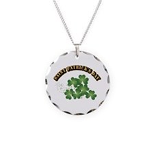 Saint Patrick's Day With Tex Necklace