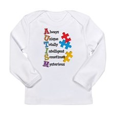 Autism Acrostic Long Sleeve Infant T-Shirt