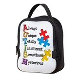 Autism Lunch Bags
