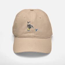 Australian Cattle Dog Curling Baseball Baseball Cap