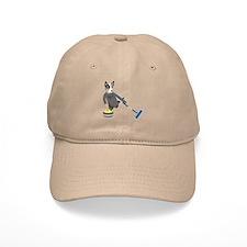 Australian Cattle Dog Curling Baseball Cap