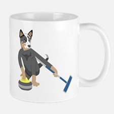 Australian Cattle Dog Curling Mug