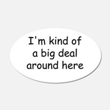 big deal.jpg Wall Decal