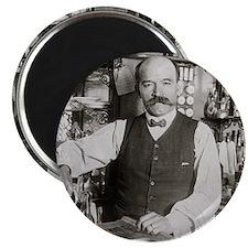 Bartender Pouring Drink, 1910 Magnet