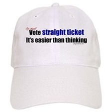 Funny Vote third party Baseball Cap