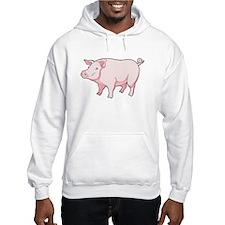 Pink Pig Jumper Hoody