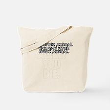 SpiritAnimalWht Tote Bag