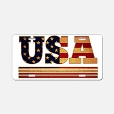 USA since 1776 Aluminum License Plate