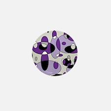 Fizzy Grape Soda Mini Button