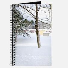 Winter landscape Journal