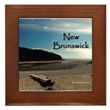 New Brunswick Framed Tile