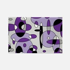 Fizzy Grape Soda Rectangle Magnet