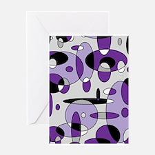 Fizzy Grape Soda Greeting Card