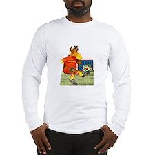 Soccer Moose  Long Sleeve T-Shirt