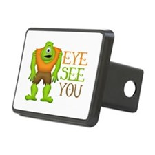 Eye See You Funny Cyclops Hitch Cover