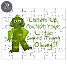 Funny Not Your Little Swamp Thang Monster Puzzle