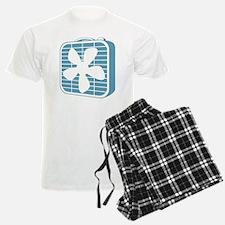 Box Fan Graphic Pajamas