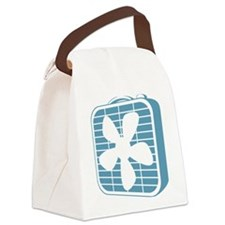 Box Fan Graphic Canvas Lunch Bag